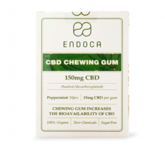 Endoca Chewing Gum 150mg CBD