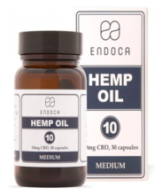 Endoca Hemp Oil Capsules 3% CBD