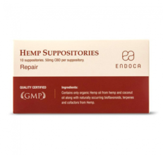 Endoca Suppositories Total 500mg CBD