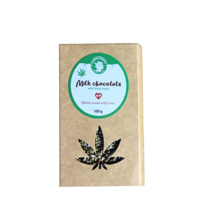 Milk Chocolate With Hemp Seeds 100g