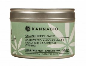 KANNABIO – Raw Cannabis Flowers (Trim) 30gr
