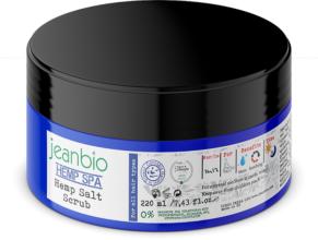 JeanBio – Scrub σώματος κάνναβης (220ml)
