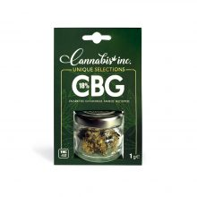 Ανθός CBG 18% CannabisInc Unique Selections 1g