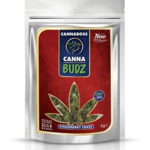 CannaBudz Strawberry Craze < 20% CBD 5G